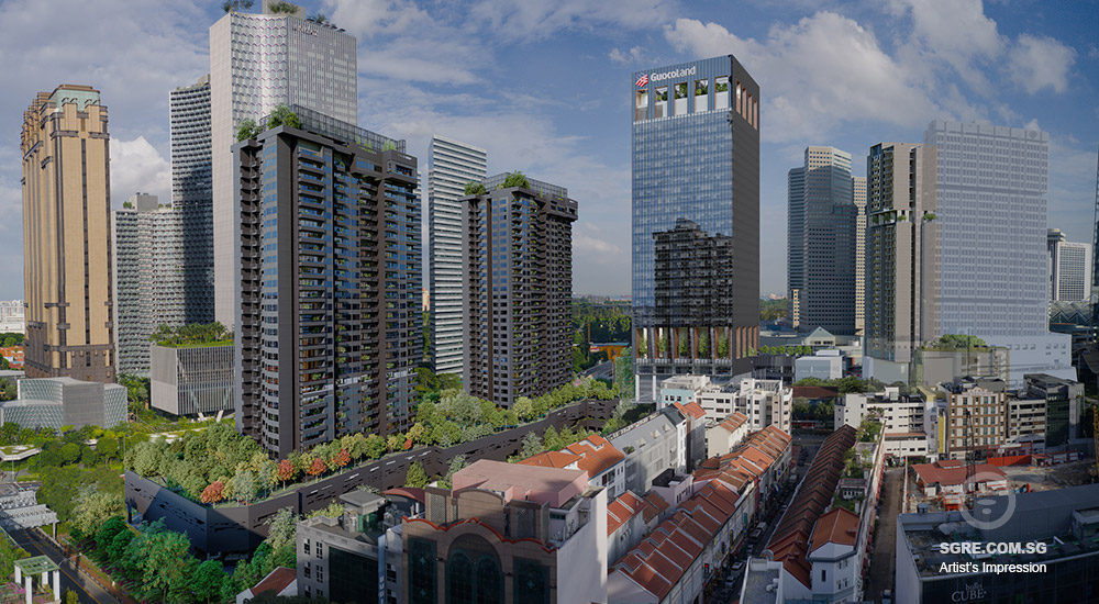 Midtown Modern by Guocoland artist impression hero image