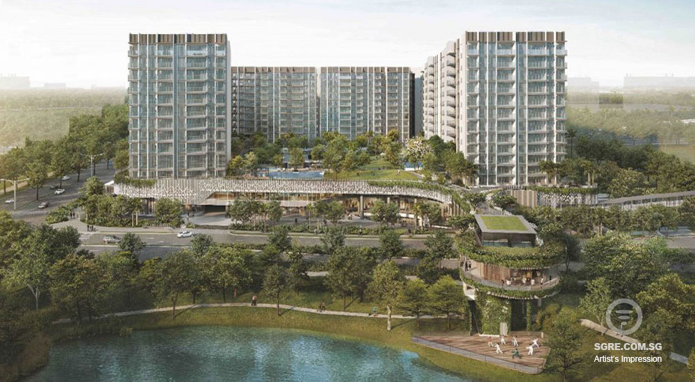 The Woodleigh Residences artist impression